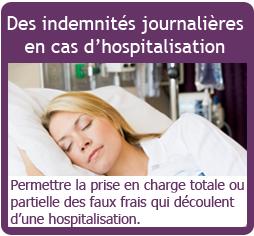 Indemnités journalières en cas d'hospitalisation